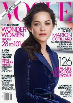 Marion Cotillard,  Vogue August 2012