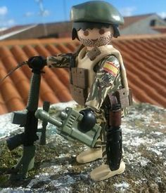 Special Forces soldier of the Spanish army