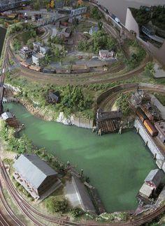 Model Train Layouts Custom Built   Flickr - Photo Sharing!