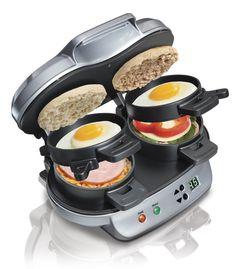 Breakfast Sandwich Maker by Hamilton Beach