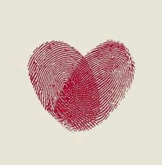 This Heart Shape Fingerprint Tattoos! tattoo ideas, save, heart shapes, shape fingerprint, fingerprints, fingerprint tattoo, kid fingerprint, a tattoo, kids