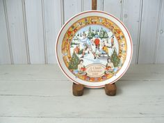 1981 A Child's Christmas Plate Wedgwood England by lookonmytreasures on Etsy