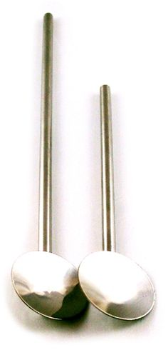 Cocktail Kingdom Steel Julep Spoon Straw