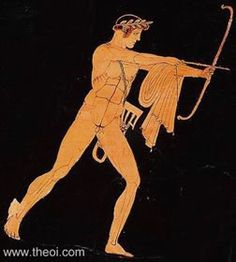 Book I Apollo shoots his arrows of plague into the Greek army camped outside of Troy