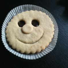 Smiling biscuit