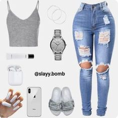 Swag Outfits For Girls, Cute Outfits For School, Teenage Girl Outfits, Cute Swag Outfits, Cute Comfy Outfits, Teenager Outfits, Teen Fashion Outfits, Girly Outfits, Stylish Outfits