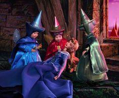Disney Barbie Dolls, Disney Princess Dolls, Disney Princess Dresses, Walt Disney Pictures, Disney Images, Aurora Disney, Arte Disney, Disney Art, Disney Films List