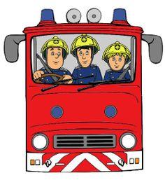 Traktatiebakje met brandweerman Sam, Elvis en Jenny