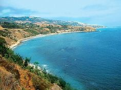 Palos Verdes California...  We took Bella there when she was a baby to visit nana!  Beautiful spot!