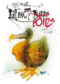 Extinct Boids by Ralph Steadman