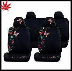 Cute Pu Butterfly Car Seat Cover