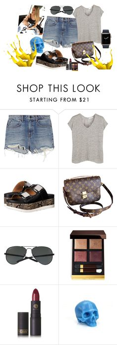 """""""Untitled #86"""" by roxana27 ❤ liked on Polyvore featuring Alexander Wang, rag & bone, Calvin Klein, Louis Vuitton, Ray-Ban, Tom Ford and Lipstick Queen"""
