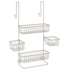 8. InterDesign Metalo Bathroom Shower Caddy