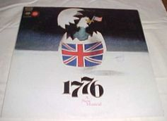 Sherman Edwards - 1776 A New Musical Record Album Vinyl LP ...