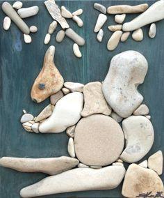 Doğal Taşları Döşereyerek Hayvan Figürleri Yapmak (2) - Doğal taşlar, doğal taş evler ve doğal taş ocakları