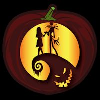 Nightmare Before Christmas CO - Pumpkin Pattern - Stoneykins Pumpkin Carving Patterns and Stencils