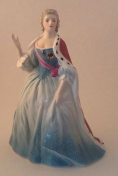 "Goebel Figurine Katharina 1772 W Germany Regal 8.25"" Fantastic"