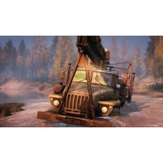 SPINTIRES (PC) - The BEST SELLER game at Gamesdeal.com. Spintires is an Intel award winning off-road driving experience designed to challenge the player's driving skill and endurance. Take responsibility of operating large all-terrain Soviet vehicles and venture across the rugged landscapes with only a map and compass to guide you. Click the image to know more about this awesome game.