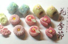 The tiniest, loveliest Japanese sweets ever, miniature Wagashi! Nunu's House