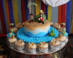 jake and the neverland pirates party | Jake and the Neverland Pirates Birthday Party | Pink Teaspoon