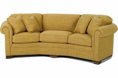 I love the curved shape of this couch and according to the pinner before me it is at some furniture store in hickory Curved Couch, Curved Sectional, Sectional Sofa With Recliner, Fabric Sectional, Reclining Sectional, Leather Reclining Sofa, Leather Recliner, Leather Sofa, Neutral Couch