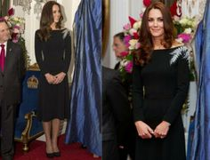 Kate Middleton In Custom Jenny Packham - State Reception. Re-tweet and favorite it here: https://twitter.com/MyFashBlog/status/454427917045342208/photo/1