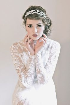 Enchanted Atelier Bridal Accessory Collection Fall and Winter 2013 | via http://junebugweddings.com