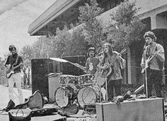 Stevie Nicks and Lindsey Buckingham playing in their first band, Fritz.