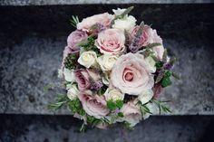Lusan Mandongus For A Pretty Pale Blue September Wedding