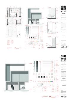 Architecture Drawing Plan, Architecture Jobs, Architecture Portfolio, Architecture Details, Landscape Architecture, Mise En Page Portfolio, Portfolio Design, Autocad Layout, Interior Design Presentation