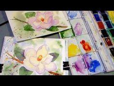 Let's Paint Magnolias in Watercolor!