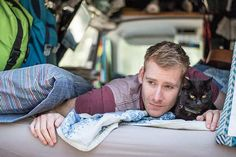 2,5 Years Ago, I Quit My Job And Sold Everything To Travel With My Cat Willow In A Campervan - Planet of Goodness