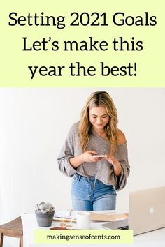 Setting 2021 Goals- make this year the best! Having goals is a great way to reach financial abundance. Make Money Today, Make Easy Money, Lists To Make, Ways To Save Money, Make More Money, Easy Money Online, Money Change, Managing Your Money, Starting Your Own Business