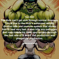 Hulk can't get sick