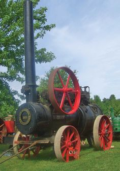 Britannia Steam Engine Is a World Traveler - Steam Engines - Farm Collector