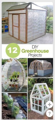 12 ways to make greenhouses – Recycled Crafts