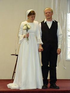 Image result for amish wedding dresses