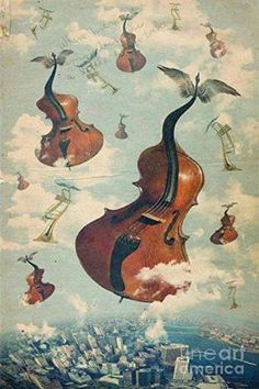 Buy posters, art prints and canvas prints on ARTFLAKES. Sell your art, design and photography. Cello Kunst, Cello Art, Music Artwork, Art Music, Instruments, Art Prints Online, Surrealism Painting, Music Logo, Wind Chimes