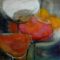 """Angela Fusenig, """"Füreinander"""" With a click on 'Send as art card', you can send this art work to your friends - for free!"""