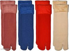 Socks PINKIT Soft & Cozy Solid Winter Thick Warm Fleece Lined Thermal Stretchy Elastic Velvet with Thumb Socks for Girls/Ladies/Women)(4 Pairs)- Multicolor Fabric: Velvet Type: Regular Pattern: Solid Multipack: 4 Sizes: Free Size Country of Origin: India Sizes Available: Free Size *Proof of Safe Delivery! Click to know on Safety Standards of Delivery Partners- https://ltl.sh/y_nZrAV3  Catalog Rating: ★4.4 (1887)  Catalog Name: Styles Modern Women Socks CatalogID_1926981 C72-SC1086 Code: 262-10542247-
