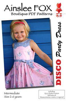 Disco Dress PDF by Ainsley Fox $10
