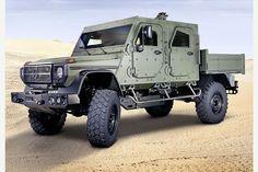 Mercedes-Benz G-Wagon LAPV 6.X и LAPV 7.X- новые концепты патрульных броневиков | Все про кроссоверы и внедорожники