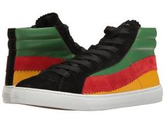 Paul Smith Lynn Reggae High Top (Black) Men's Lace up casual Shoes