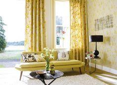 Harlequin Blossom fabric, curtains, blinds & more. Fresh, elegant & sophisticated.