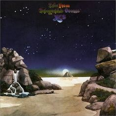 Yes Tales from Topographic Oceans by Roger Dean The taste of Roger Dean for music was not always my taste, but I really like his paintings.