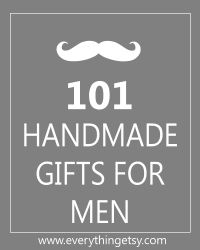25 Handmade Gifts for Men {DIY}