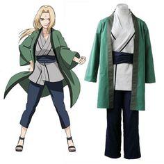 Naruto Tsunade 1ST Cosplay Costumes