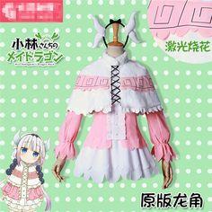 Aliexpress.com: Comprar Kobayashi san Chi sin Limpieza Dragón KannaKamui anime cosplay traje de mucama W de costume suits fiable proveedores en Shop2792191 Store