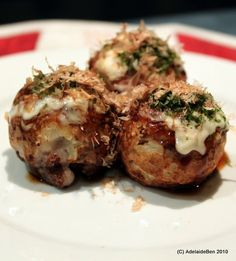 Takoyaki Time (Japanese Octopus Balls)
