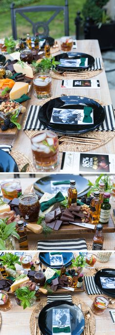 Father's Day Dinner Party / Bourbon & Chocolate Charcuterie Board